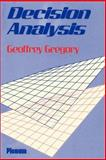 Decision Analysis, Gregory, G., 0306428547