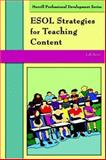 ESOL Strategies for Teaching Content, Reiss, Jodi, 0131708546