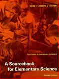 A Sourcebook for Elementary Science, Hone, Elizabeth B. and Joseph, Alexander, 015582855X