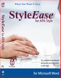 StyleEase 3. 0 for APA Style (DVD Case) 9780982028551