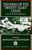 Thinkers of the Twenty Years' Crisis 9780198278559