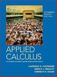 Applied Calculus for Business, Economics, and the Social and Life Sciences, Hoffmann, Laurence D. and Bradley, Gerald L., 0073018562