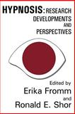 Hypnosis : Research Developments and Perspectives, , 0202308561