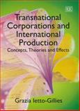 Transnational Corporations and International Production, Ietto-Gillies, Grazia, 1843768569