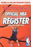 Official NBA Register 2006-07, Sporting News Staff, 0892048565