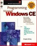 Programming Microsoft Windows CE, Boling, Douglas, 1572318562