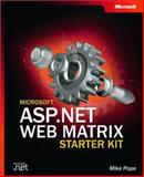 Microsoft ASP .NET Web Matrix Starter, Pope, Mike, 0735618569
