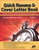 Quick Resume and Cover Letter Book 5th Edition
