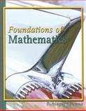 Foundations of Mathematics, Bittinger, Marvin L. and Penna, Judith A., 0321168569