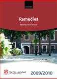 Remedies 2009-2010, David Emmet, The City Law School, 0199568561