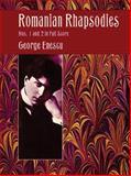 Romanian Rhapsodies Nos 1 and 2 in Full Score, George Enescu, 0486408566