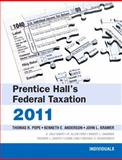 PH's Fed Tax Individuals 2011, Pope, Thomas R. and Anderson, Kenneth E., 0132138573