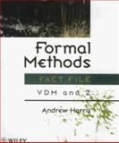 Formal Methods Fact File : VDM and Z, Harry, Andrew, 0471958573