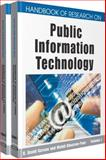 Handbook of Research on Public Information Technology, Garson, G. David and Khosrow-Pour, Mehdi, 1599048574