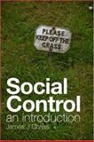 Social Control : An Introduction, Chriss, James J., 0745638570