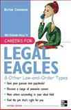 Careers for Legal Eagles and Other Law-and-Order Types, Blythe Camenson, 0071438580