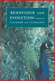 Behaviour and Evolution, , 0521418585