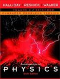 Fundamentals of Physics Vol. 2 : Chapters 22-45, Enhanced Problems Version, Halliday, David and Resnick, Robert, 0471228583