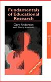 Fundamentals of Educational Research, Anderson, Garry and Arsenault, Nancy L., 0750708581