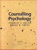 Counseling Psychology, Gelso, Charles J. and Fretz, Bruce R., 0030278589