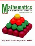 Mathematics for Elementary Teachers : A Contemporary Approach, Musser, Gary L. and Burger, William F., 047136858X