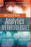 Advanced Analytics Methodologies Student Workbook, Chambers, Michele and Dinsmore, Thomas, 013349859X