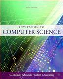Invitation to Computer Science, Schneider, G. Michael and Gersting, Judith, 0324788592