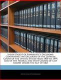 Index-Digest of Bankruptcy Decisions, Edwin Charles Brandenburg, 114617859X