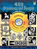 489 Ornaments and Designs CD-ROM and Book, Karl Placek, 0486998592