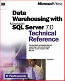 Data Warehousing with Microsoft SQL Server 7.0 : Technical Reference, Sturm, Jake, 0735608598