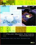 Policy-Based Network Management : Solutions for the Next Generation, Strassner, John S., 1558608591