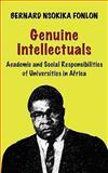 Genuine Intellectuals, Bernard Nsokika Fonlon, 9956558591