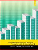Using SPSS for Windows and Macintosh, Green, Samuel B. and Salkind, Neil J., 0205958605