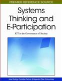 Systems Thinking and E-Participation : ICT in the Governance of Society, Córdoba-Pachón, José-Rodrigo and Ochoa-Arias, Alejandro, 1605668605