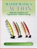Mathematics in Action : Algebraic, Graphical, and Trigonometric Problem Solving, Consortium for Foundation Mathematics, 0321698614