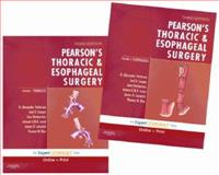 Thoracic and Esophageal Surgery Set, Patterson, G. Alexander and Pearson, F. Griffith, 0443068615