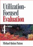 Utilization-Focused Evaluation, Patton, Michael Quinn, 141295861X