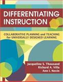 Differentiating Instruction : Collaborative Planning and Teaching for Universally Designed Learning, , 1412938619
