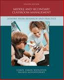 Middle and Secondary Classroom Management : Lessons from Research and Practice, Weinstein, Carol Simon and Novodvorsky, Ingrid, 0073378615
