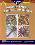 Insects and Spiders/Reptiles and Amphibians, School Zone Publishing Company Staff and Kim Merlino, 0887438628
