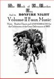 The Book of Guy Fawkes Day and Its Bonfire Night Volume II Faux Music, Bladey, Conrad, 0985448628
