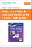 Basic Intermediate Advanced Skills, Mosby, 0323088627
