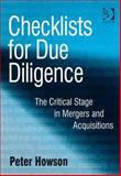 Checklists for Due Diligence, Howson, Peter, 0566088622