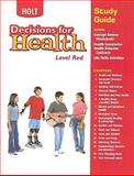 Decisions for Health, Holt, Rinehart and Winston Staff, 0030668638