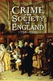 Crime and Society in England 9781405858632