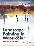 Landscape Painting in Watercolor, Zoltan Szabo, 1626548633