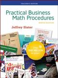 Practical Business Math Procedures, Slater, Jeffrey, 0073278637