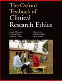 The Oxford Textbook of Clinical Research Ethics, Emanuel, 0199768633