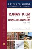 Romanticism and Transcendentalism, 1820-1865, Layman, Bruccoli-Clark and Nowatzki, Robert C., 0816078637