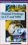 Normal Findings in CT and MRI 9780865778641